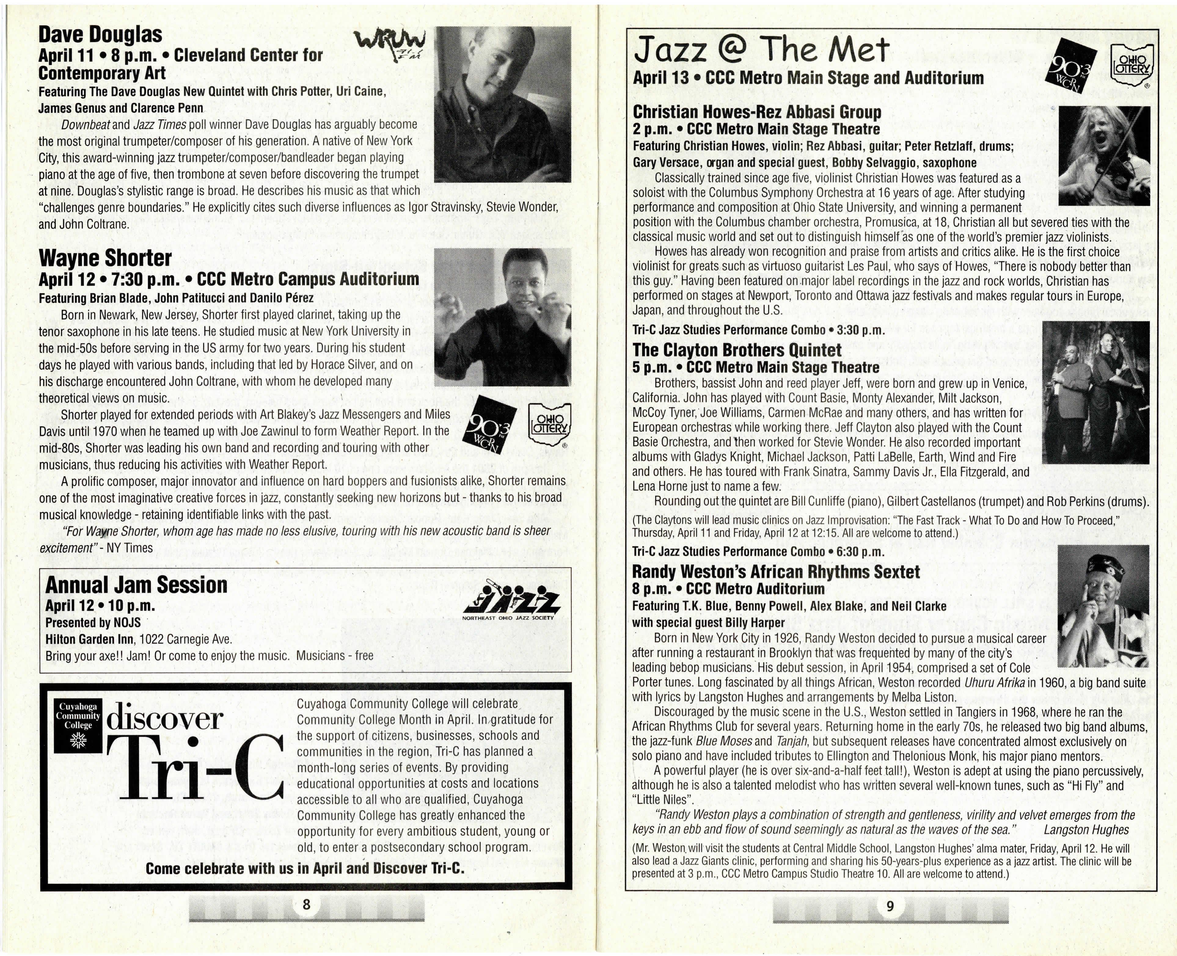 Wayne Shorter Program Bio