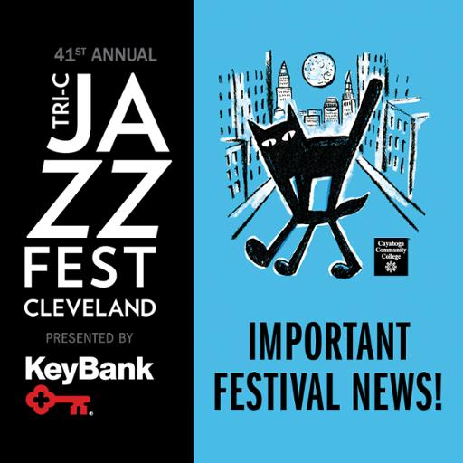 "JazzFest logo with ""Important News"" text"