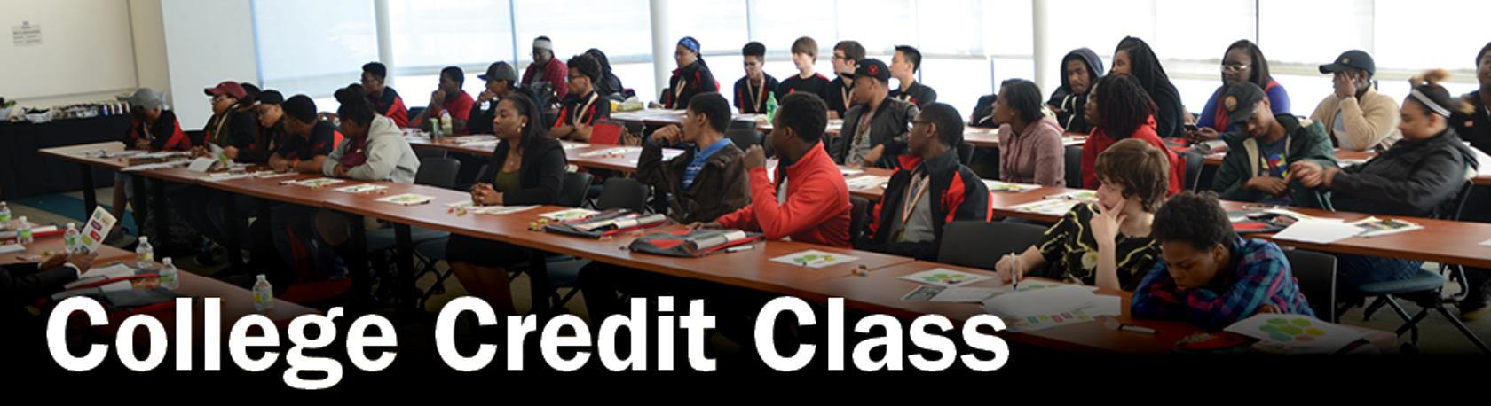 College Credit Classes