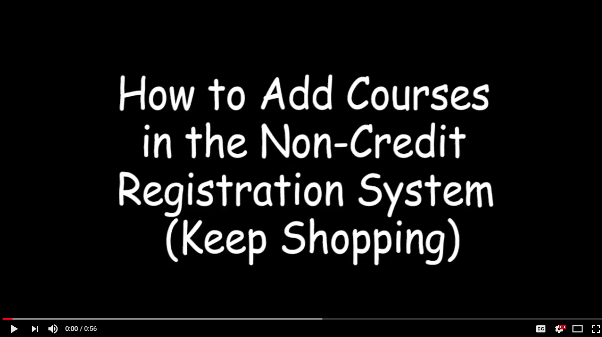 How to Add a Course